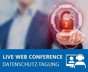 1. WEKA Datenschutz-Tagung 2022 - Live Web Conference