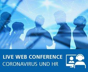 Coronavirus und HR - Kurzarbeit, Arbeitsrecht, Lohn