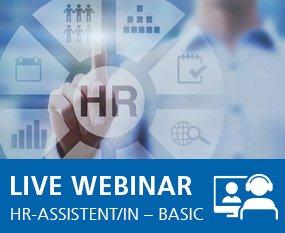 Erfolgreich als HR-Assistent/in – Basic