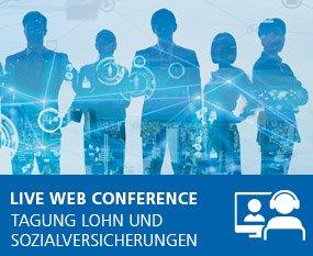 Lohn und Sozialversicherungen 2021 - Live Web Conference