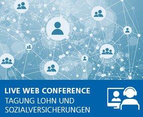Lohn und Sozialversicherungen 2022 - Live Web Conference