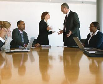 Mit Führungskompetenz Konflikte erfolgreich managen