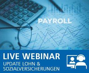 Update Lohn und Sozialversicherungen