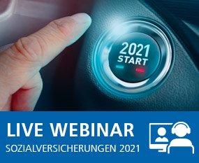 Update Neuerungen Sozialversicherungen 2021