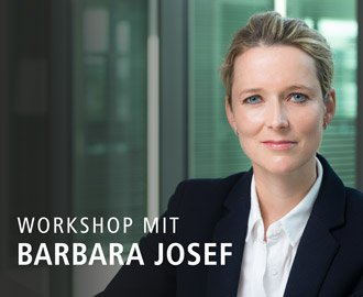 Work smart, be smart – Workshop mit Barbara Josef