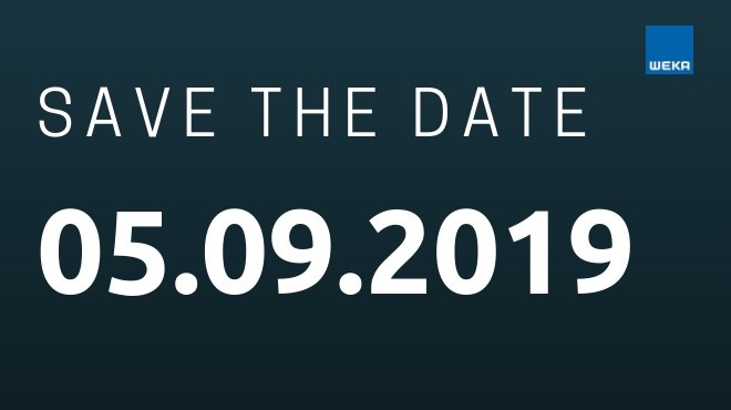 Save the date Recruiting Day - 05.09.2019